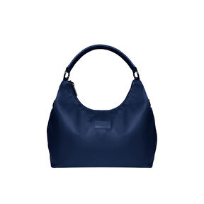 Lipault Lady Plume Hobo Bag L in the color Navy.