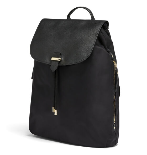 "Lipault Plume Avenue 15"" Laptop Backpack in the color Black."
