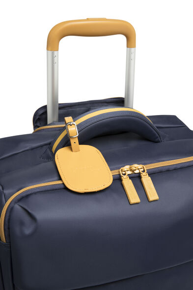 Lipault Original Plume Spinner 72/26 Packing Case in the color Navy/Mustard.