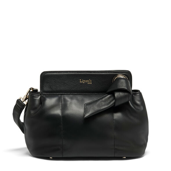 Lipault Noelie Crossbody Bag in the color Black.