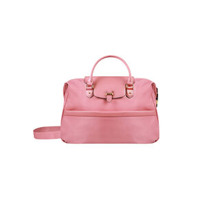 Lipault Plume Avenue Duffel Bag in the color Azalea Pink.