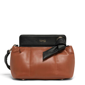 Lipault Noelie Crossbody Bag in the color Sequoia.