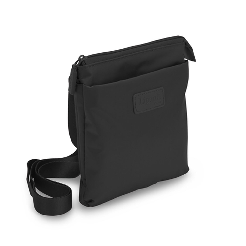 Lipault Original Plume Cross Body Bag M in the color Black. 1f0423f04a18d