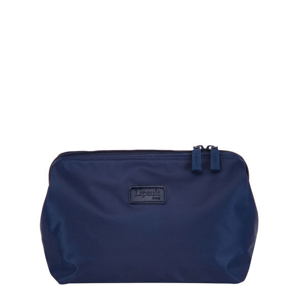 "Lipault Travel Accessories 12"" Toiletry Kit in the color Navy."