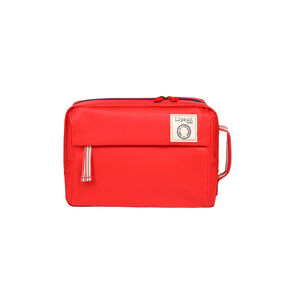 Lipault Ines De La Fressange Toilet Kit in the color Red.