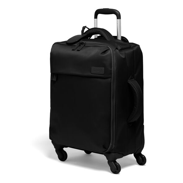 Lipault Original Plume Spinner 55/20 Carry-On in the color Black.
