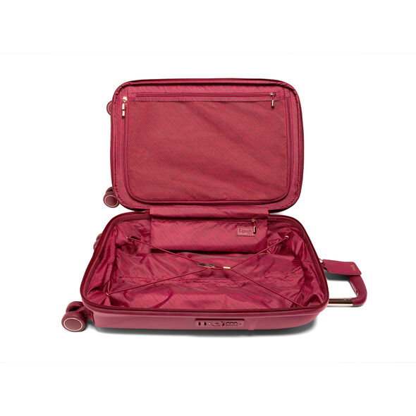 Lipault Urban Ballet Spinner 55/20 in the color Amaranth Red.
