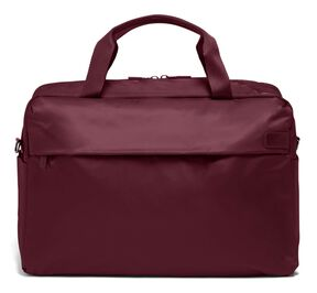 Lipault City Plume Duffle Bag in the color Bordeaux.