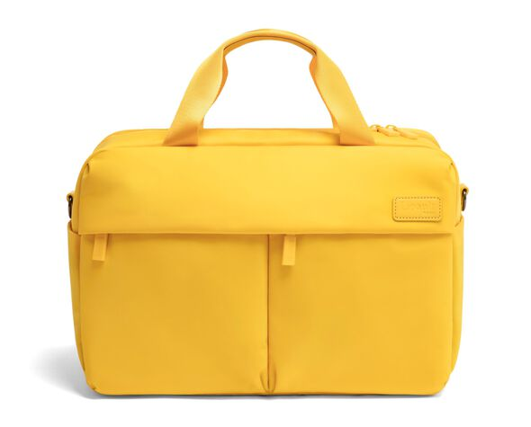 Lipault City Plume 24 Hour Bag in the color Sunflower.