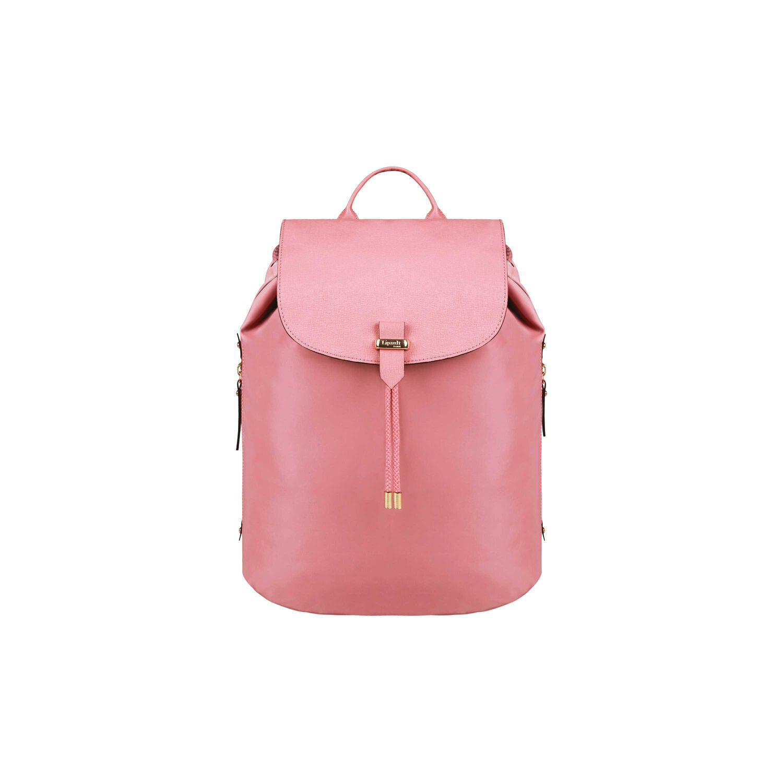 Lipault Plume Avenue 15 Laptop Backpack In The Color Azalea Pink