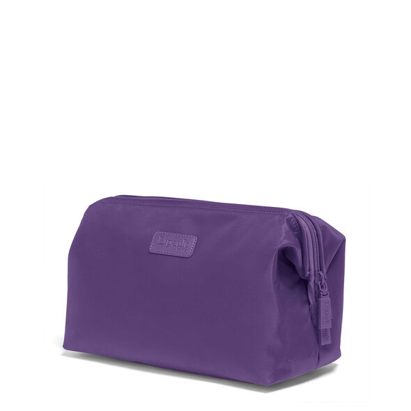 "Lipault Travel Accessories 12"" Toiletry Kit in the color Light Plum."