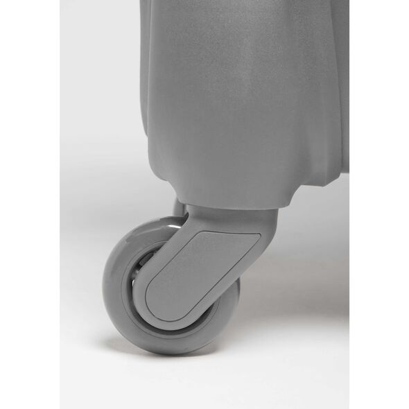 Lipault Original Plume Spinner 55/20 in the color Pearl Grey.