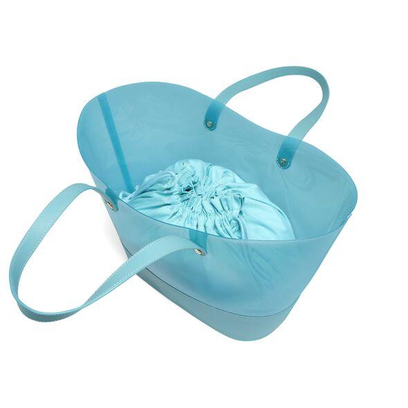 Lipault Pop N Gum Beach Bag in the color Coastal Blue.