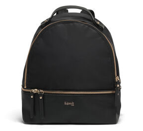 Lipault Plume Avenue Nano Backpack in the color Jet Black.