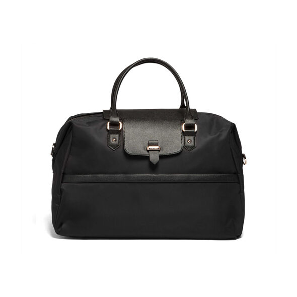 Lipault Plume Avenue Duffel Bag in the color Jet Black.