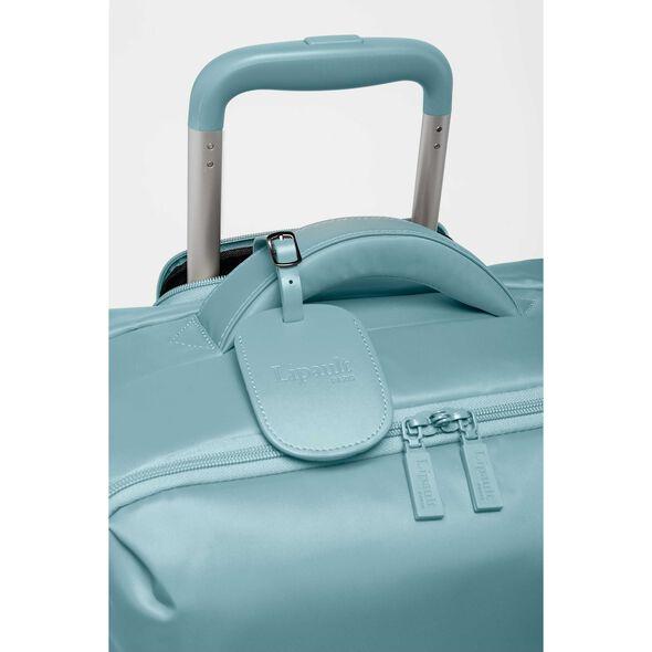 Lipault Original Plume Spinner 72/26 in the color Coastal Blue.