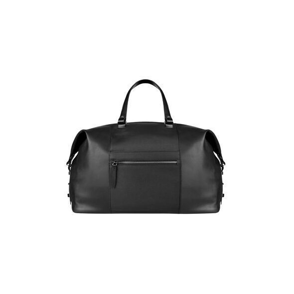 Lipault Plume Elegance Weekend Bag in the color Black Leather.