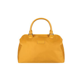 Lipault Lady Plume Bowling Bag M in the color Mustard.