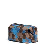 Lipault Frozen Land Toiletry Kit in the color Camo/Icy Blue/Taupe.