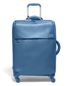 Lipault Original Plume Spinner 65/24 Packing Case in the color Steel Blue.