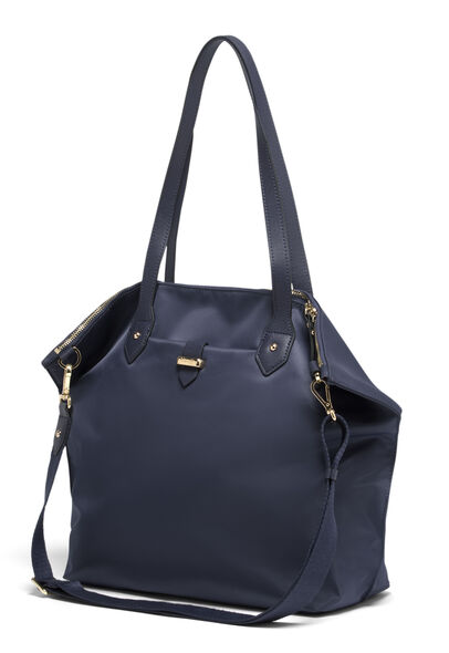 Lipault Plume Avenue Travel Tote Bag in the color Night Blue.