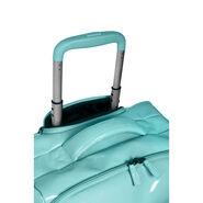 Lipault Plume Vinyle Spinner 55/20 in the color Aqua Blue.
