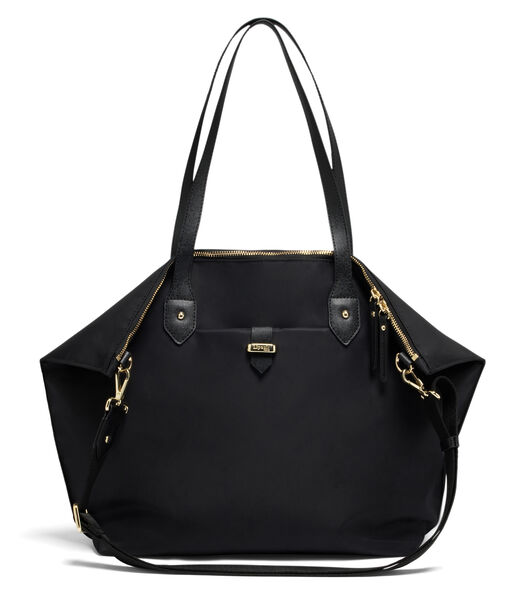 Lipault Plume Avenue Travel Tote Bag in the color Black.