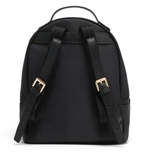 Lipault Plume Avenue Nano Backpack in the color Jet Black.