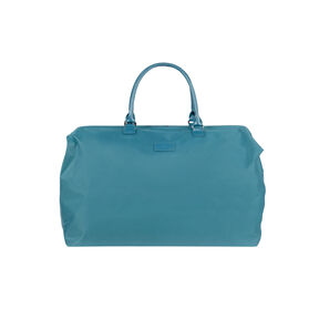 Lipault Lady Plume Weekend Bag L in the color Duck Blue.