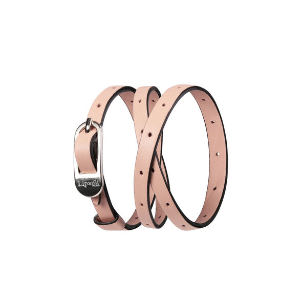 Lipault By The Seine Pin Buckle Bracelet in the color Nude.