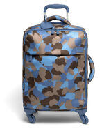 Lipault Frozen Land Spinner 55/20 Carry-On in the color Camo/Icy Blue/Taupe.