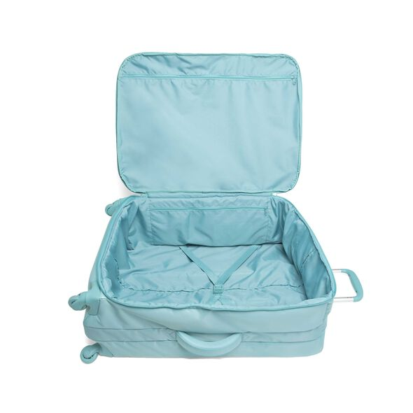 Lipault Original Plume Spinner 55/20 Carry-On in the color Coastal Blue.