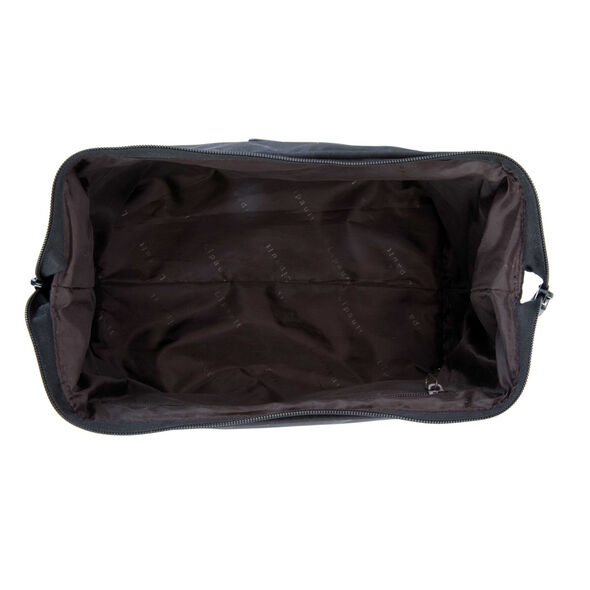 "Lipault Travel Accessories 12"" Toiletry Kit in the color Black."