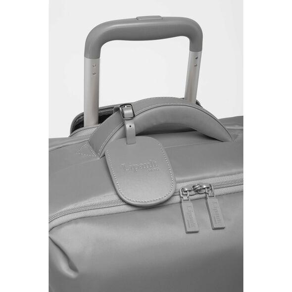 Lipault Original Plume Spinner 65/24 in the color Pearl Grey.