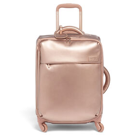 Lipault Miss Plume Spinner 55/20 2.0 in the color Pink Gold.
