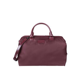 Lipault Lady Plume Bowling Bag M in the color Wine Red.