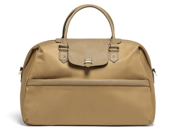 Lipault Plume Avenue Duffel Bag in the color Camel.