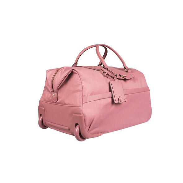 Lipault Plume Avenue Wheeled Duffle Bag in the color Azalea Pink.