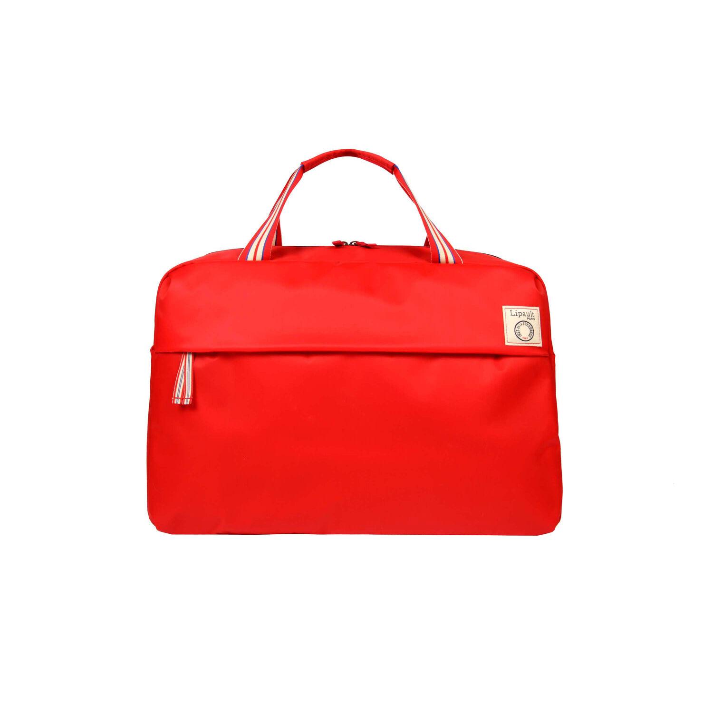 Lipault Ines De La Fressange Duffel Bag in the color Red. 4b601c65a6e7a