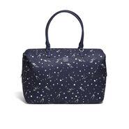 Lipault Izak Zenou Weekend Bag M in the color Pose/Night Blue.