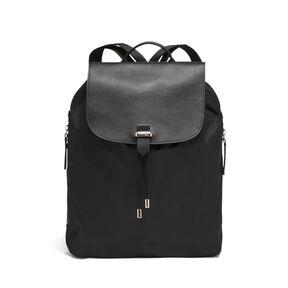 "Lipault Plume Avenue 15"" Laptop Backpack in the color Jet Black."