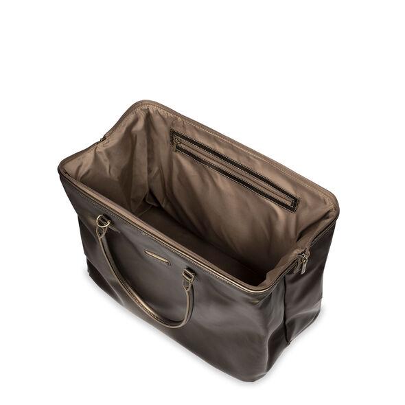 Lipault Miss Plume Weekend Bag M in the color Dark Bronze.