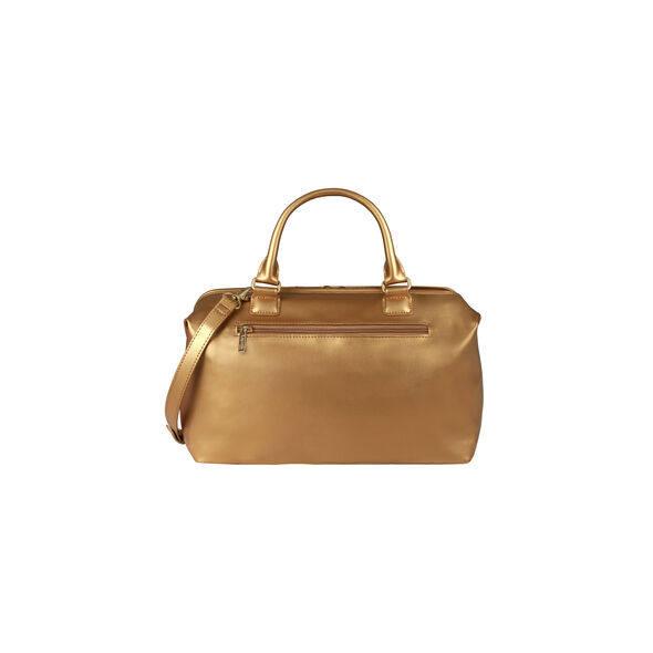 Lipault Miss Plume Bowling Bag M in the color Dark Gold.