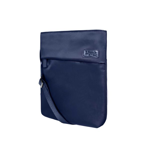 Lipault City Plume Crossover Bag M in the color Navy.