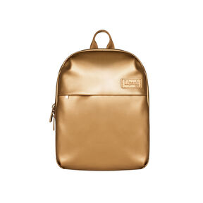 Lipault Miss Plume Backpack XS in the color Dark Gold.