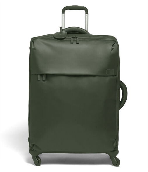 Lipault Original Plume Spinner 72/26 Packing Case in the color Khaki Green.