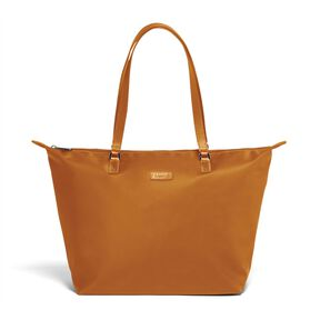 Lipault Lady Plume FL Tote Bag M in the color Clay.