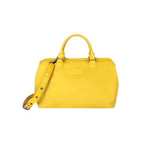 Lipault Lady Plume Bowling Bag M in the color Saffron Yellow.
