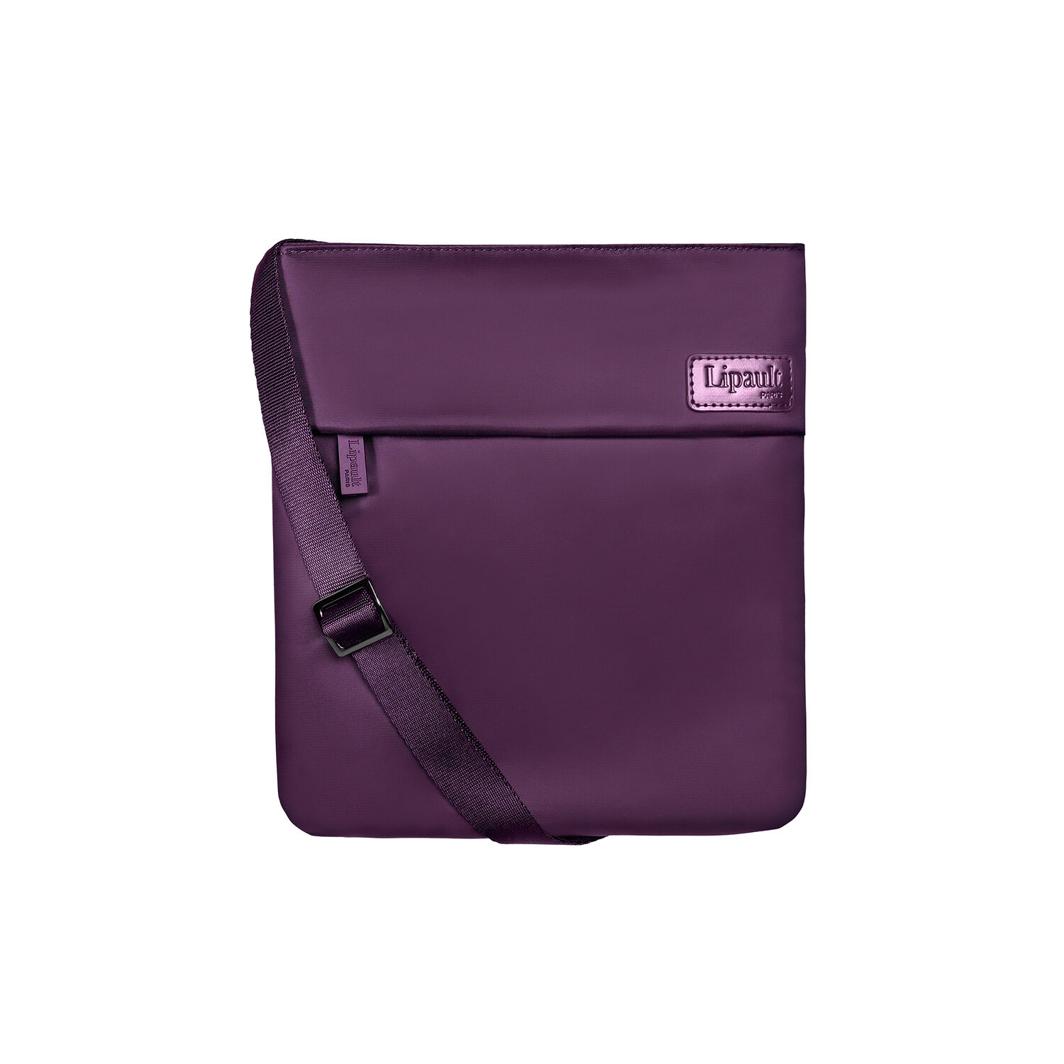 Lipault City Plume Crossover Bag M in the color Purple. 762f19ca44130