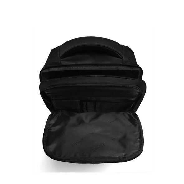 Lipault Plume Business Laptop Backpack M in the color Black.